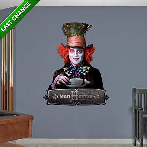 The Mad Hatter Fathead Wall Decal